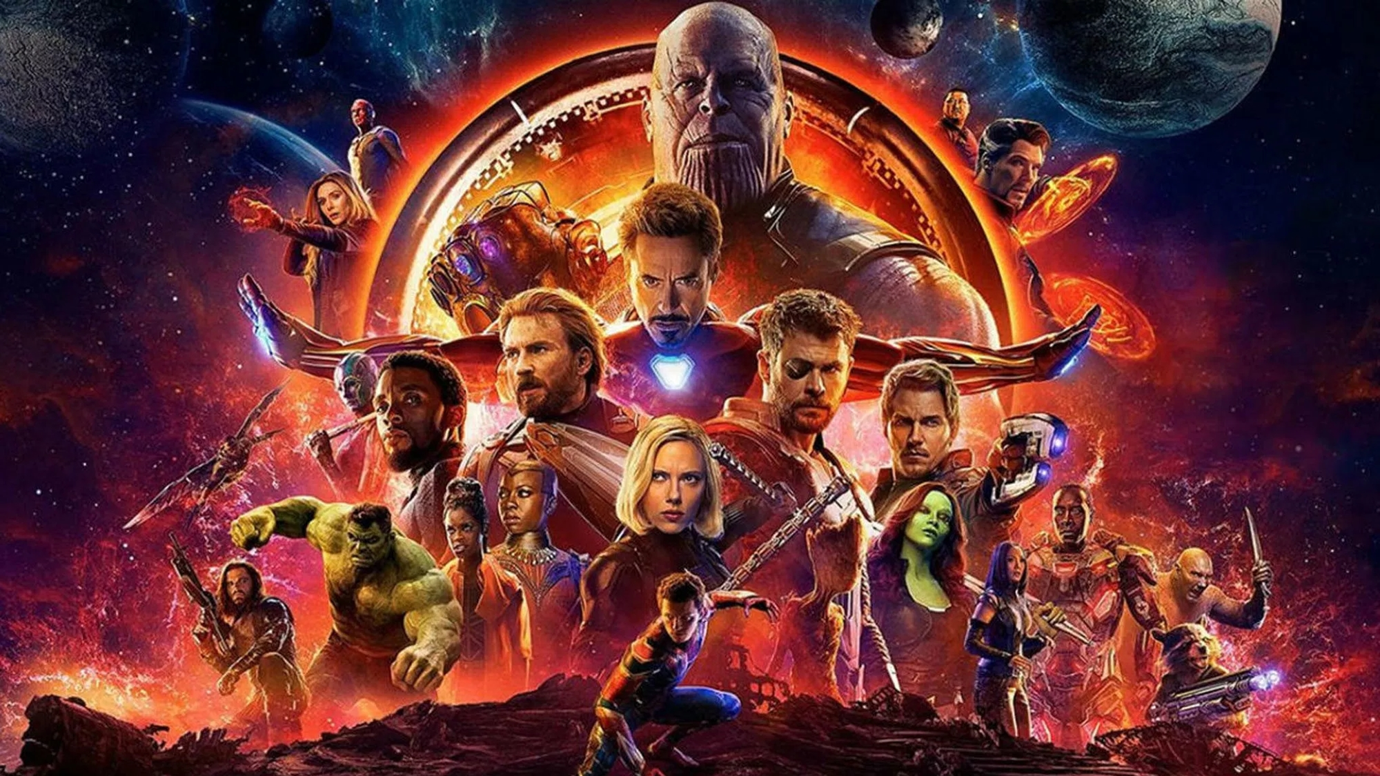 'Avengers: Infinity War' rompe récords globales de taquilla