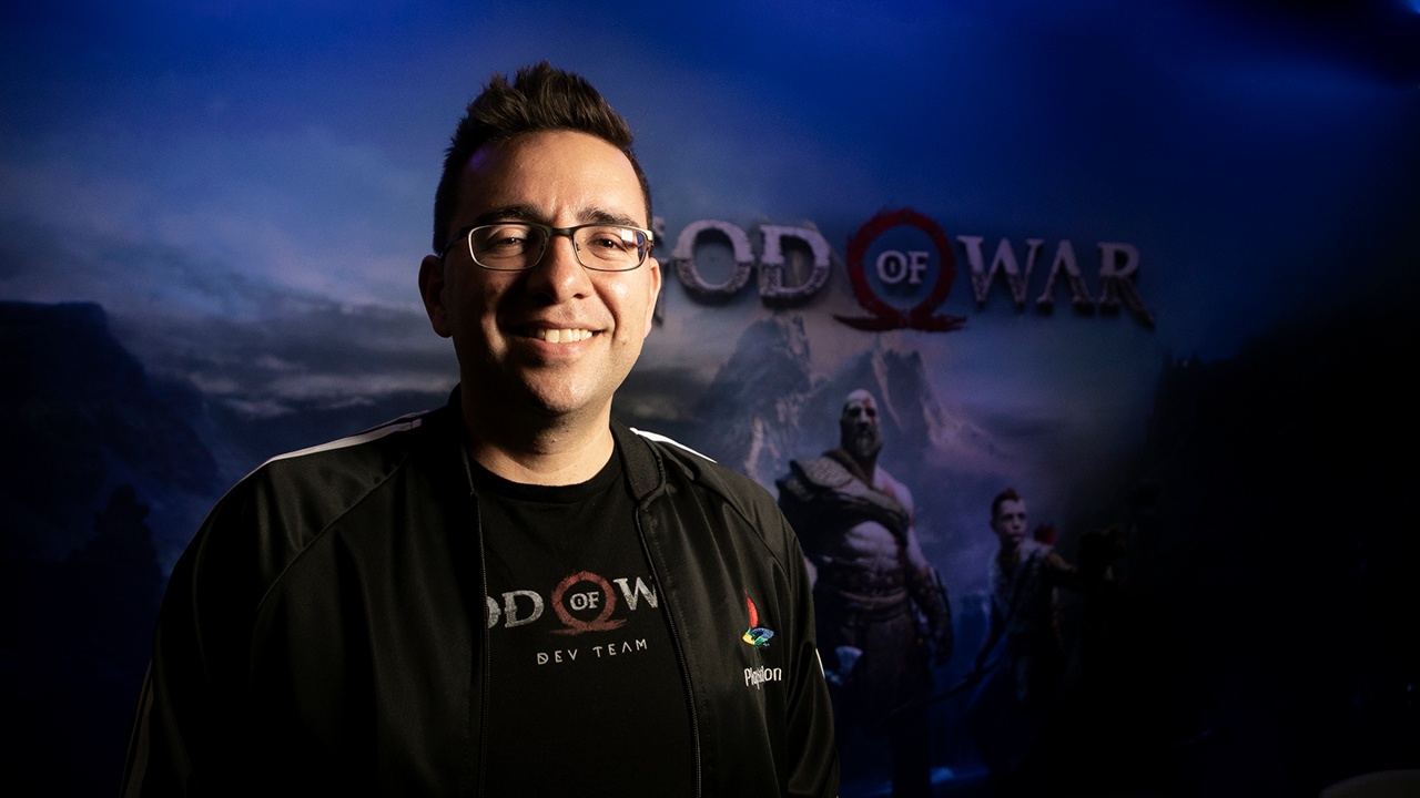 Bruno Velázquez, el mexicano que da vida a 'God of War'