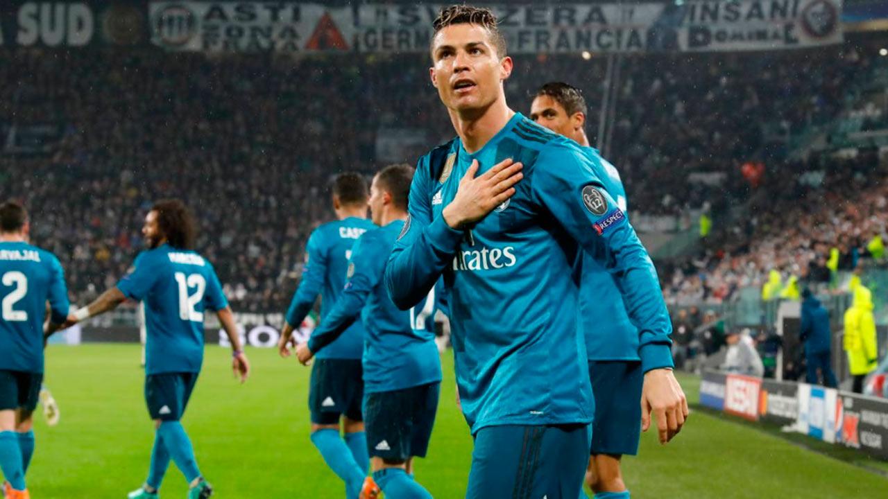 Así lideró Cristiano Ronaldo la victoria del Madrid en Turín