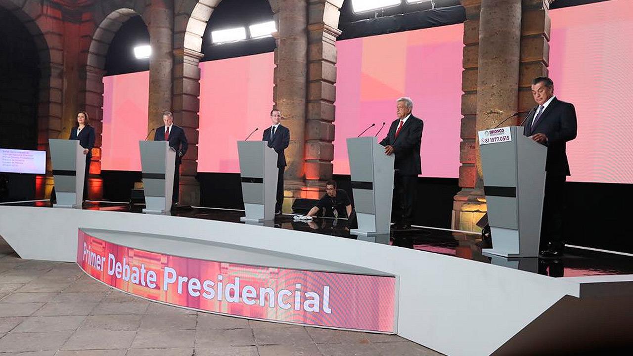 #Verificado2018 | Cuatro frases falsas del debate presidencial