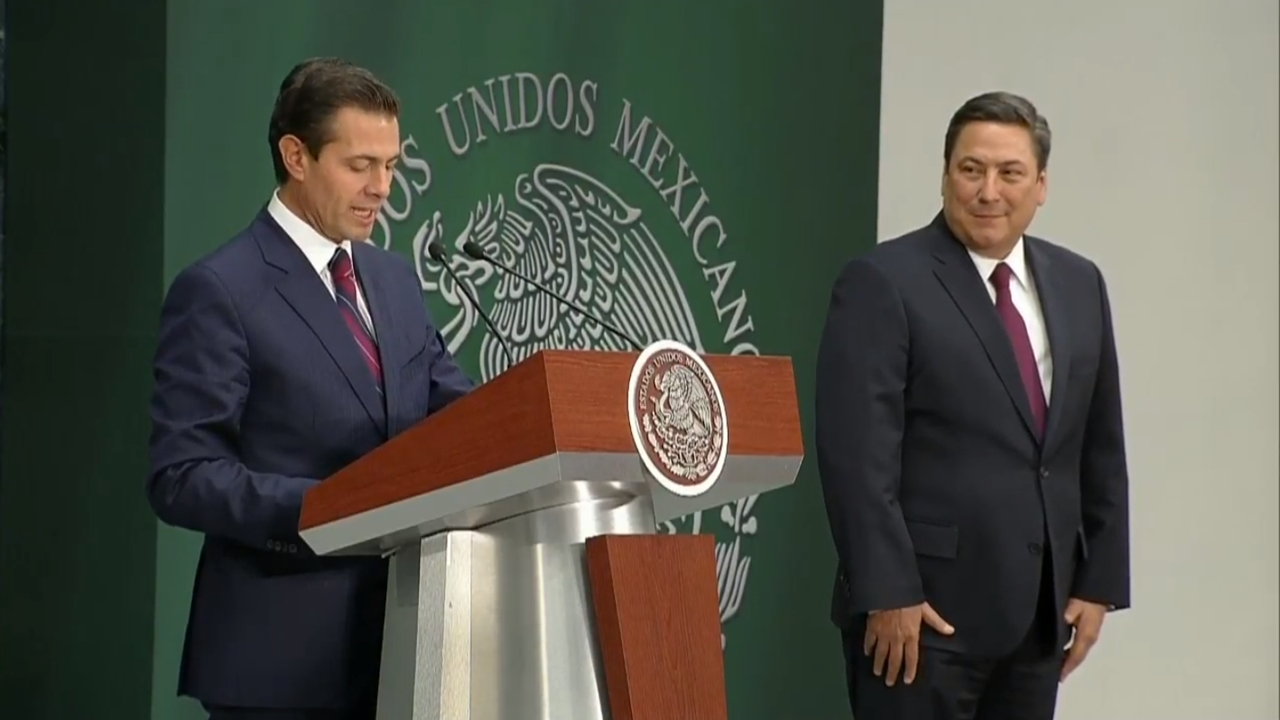 Peña Nieto designa a Baltazar Hinojosa como titular de la Sagarpa