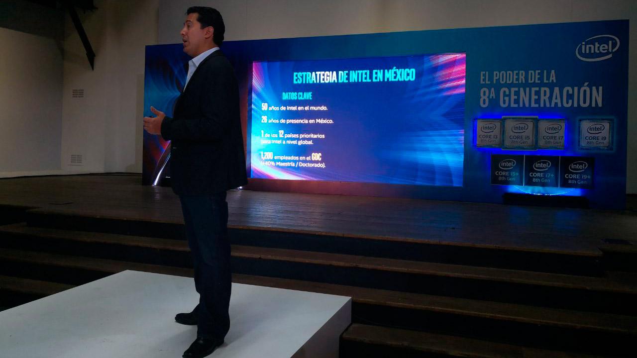 Intel presenta la octava generación de su procesador Core