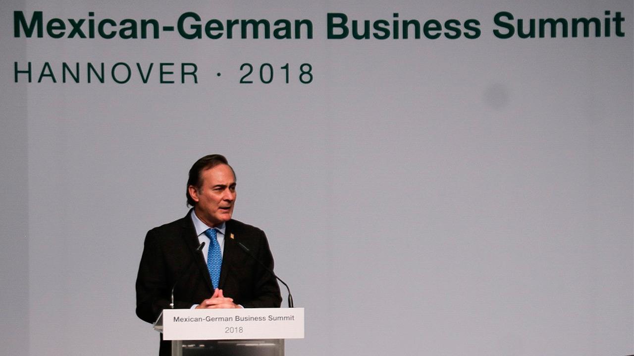 Inversiones alemanas en México suman 10,500 mdd