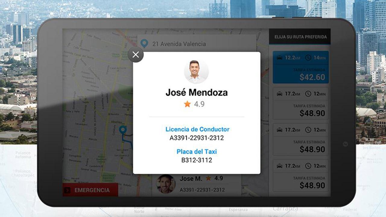 Taxistas de la CDMX se digitalizarán con la aplicación L1BRE