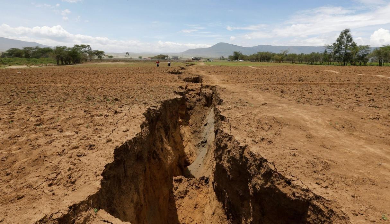 Grieta en Kenia está dividiendo a África en dos