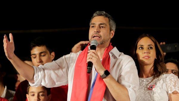 Mario Abdo Benítez gana elecciones presidenciales en Paraguay