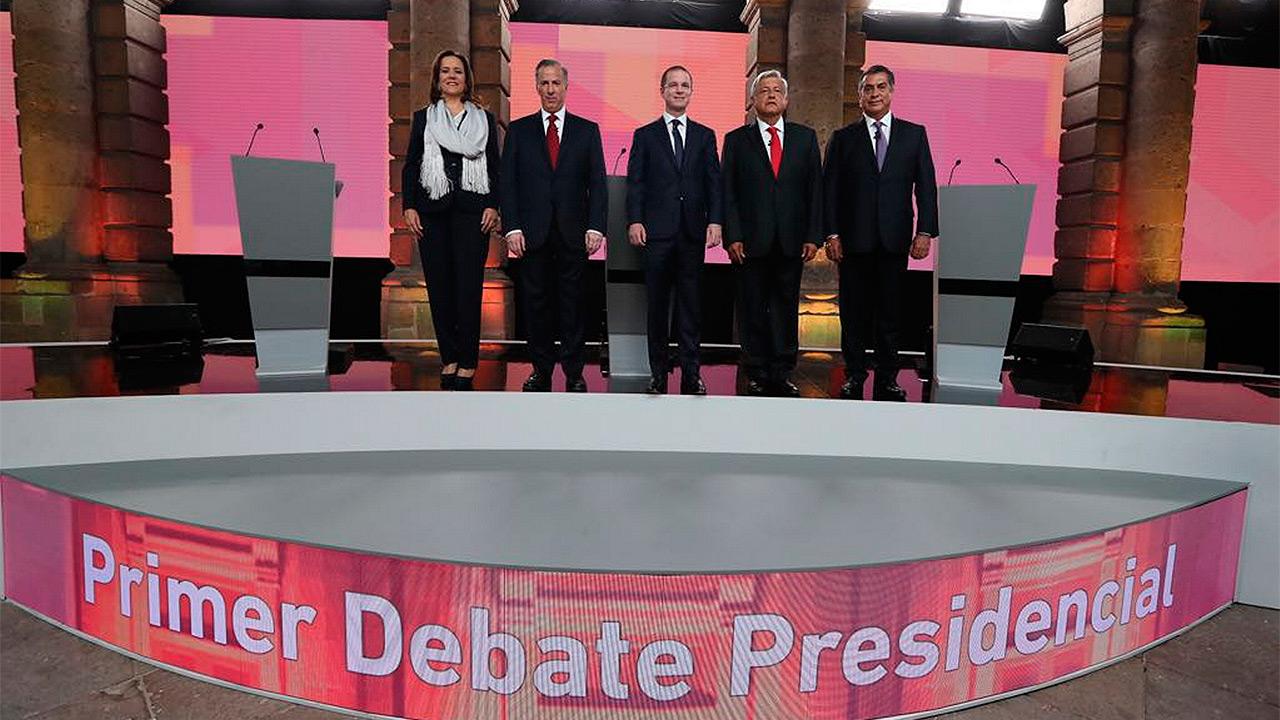 ¿Quién ganó y quién perdió el primer debate presidencial?