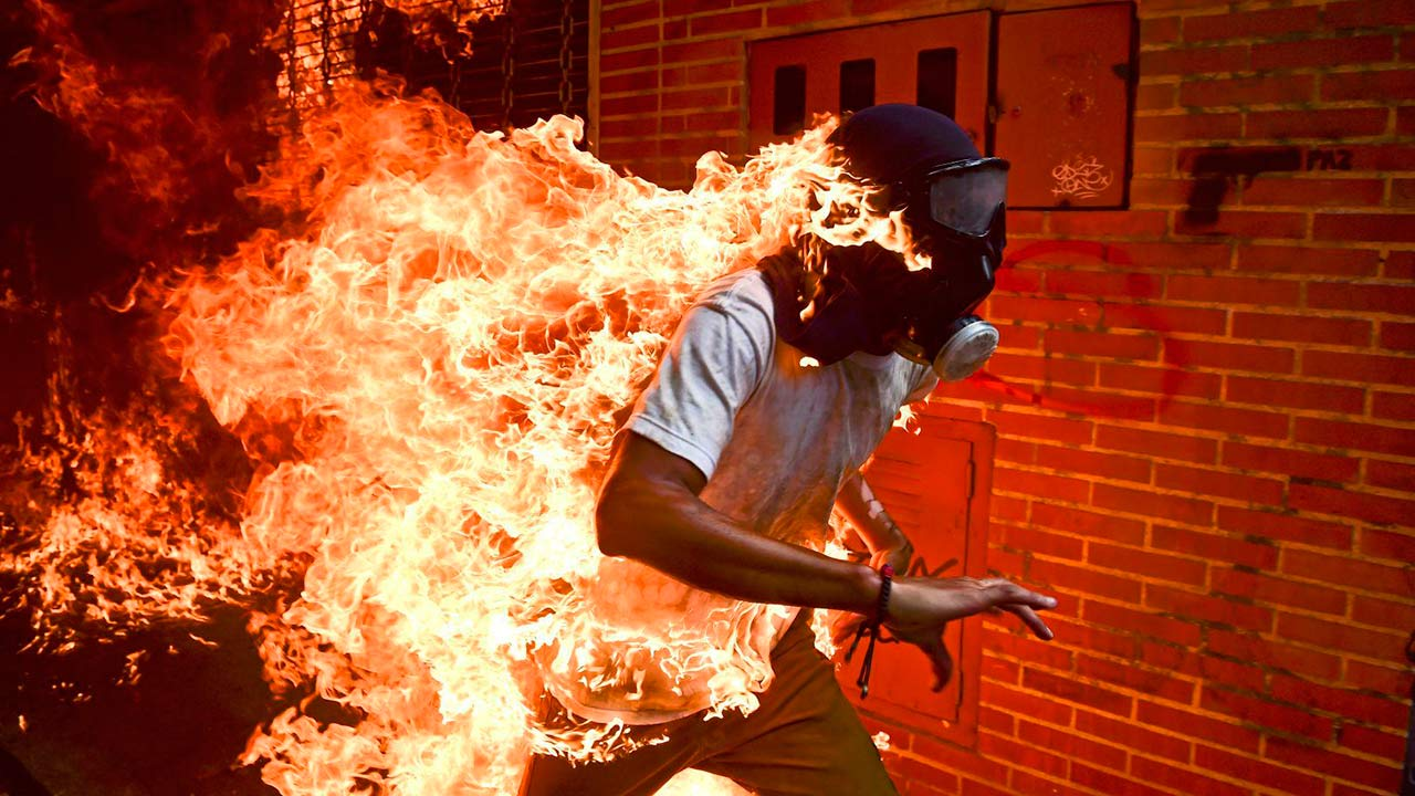 Foto de protestas en Venezuela gana el World Press Photo 2018
