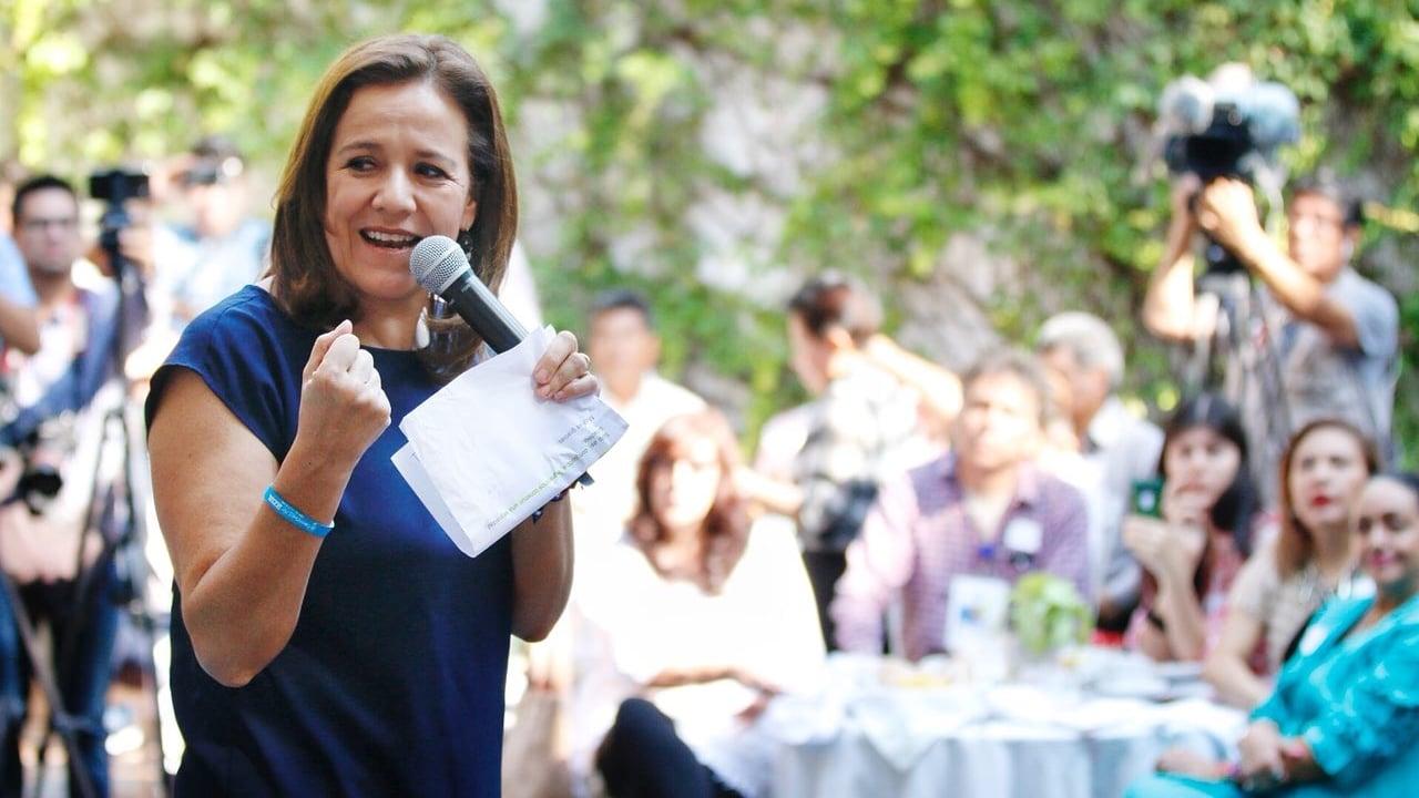 Margarita Zavala oficializa su renuncia a la candidatura presidencial
