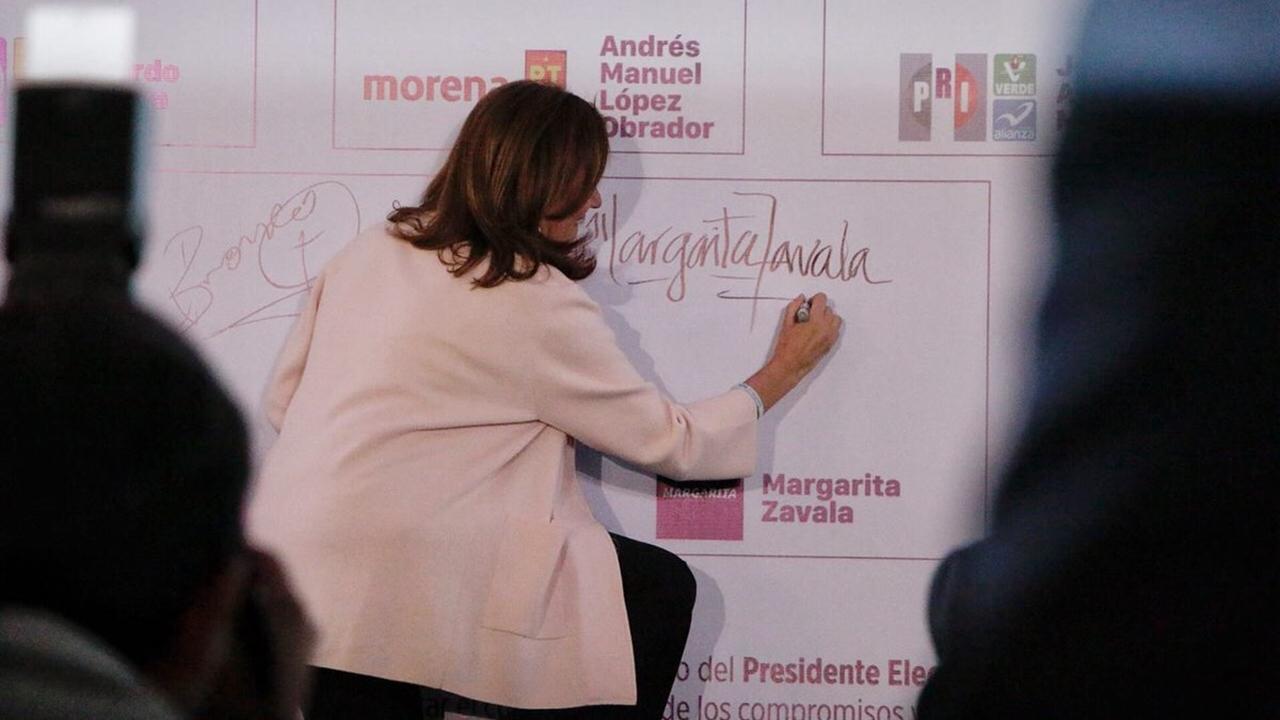 Margarita Zavala: una separación anticipada