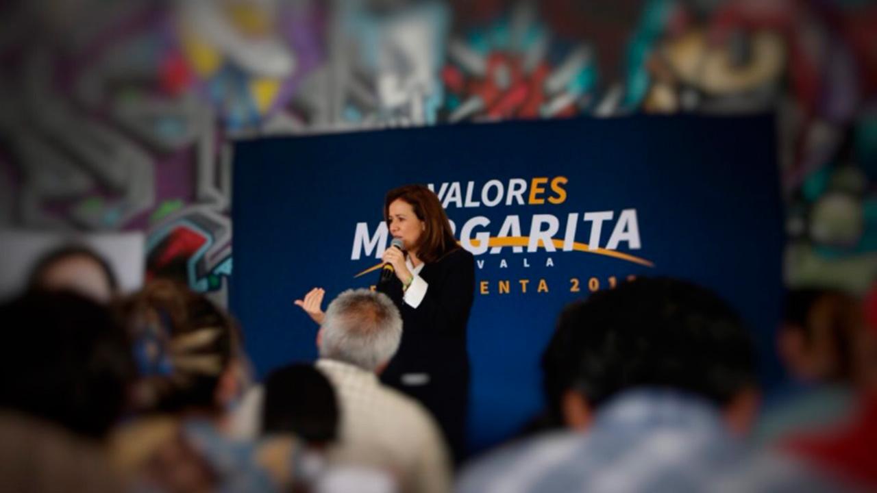 Reparto de spots del INE no fue equitativo: Margarita Zavala