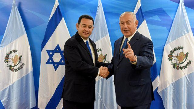 Guatemala inauguró su embajada en Jerusalén, tras los pasos de Estados Unidos