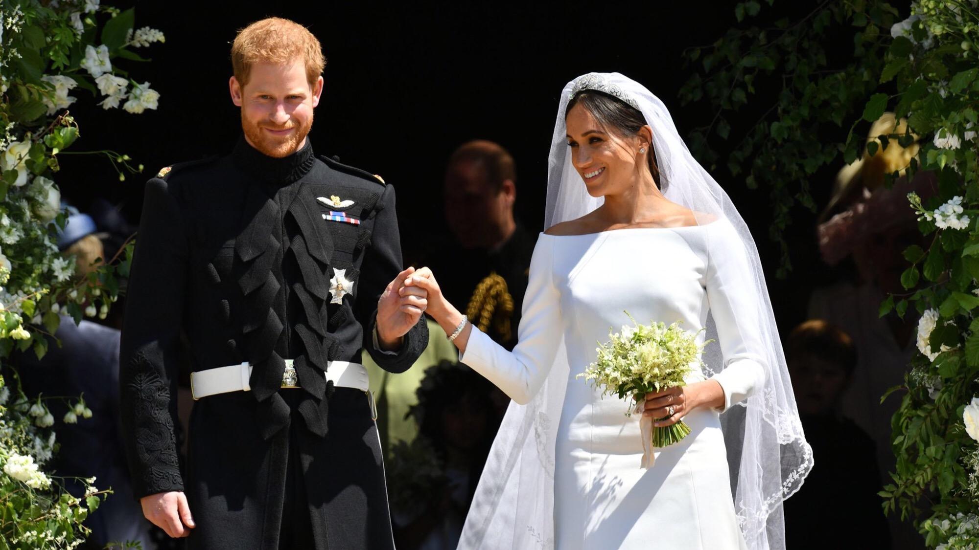 Enrique y Meghan refrescan la realeza británica con su boda