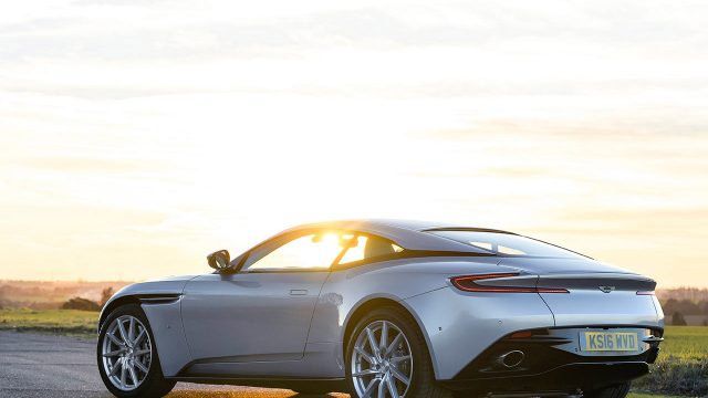 DB11.Foto: Max Earey/Aston Martin.