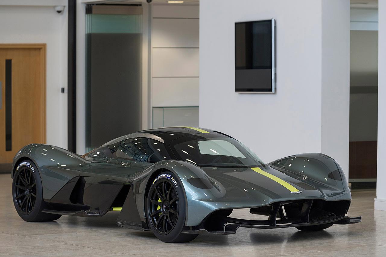 Valkyrie, prototipo hecho a la medida del conductor. Foto: Max Earey/Aston Martin.