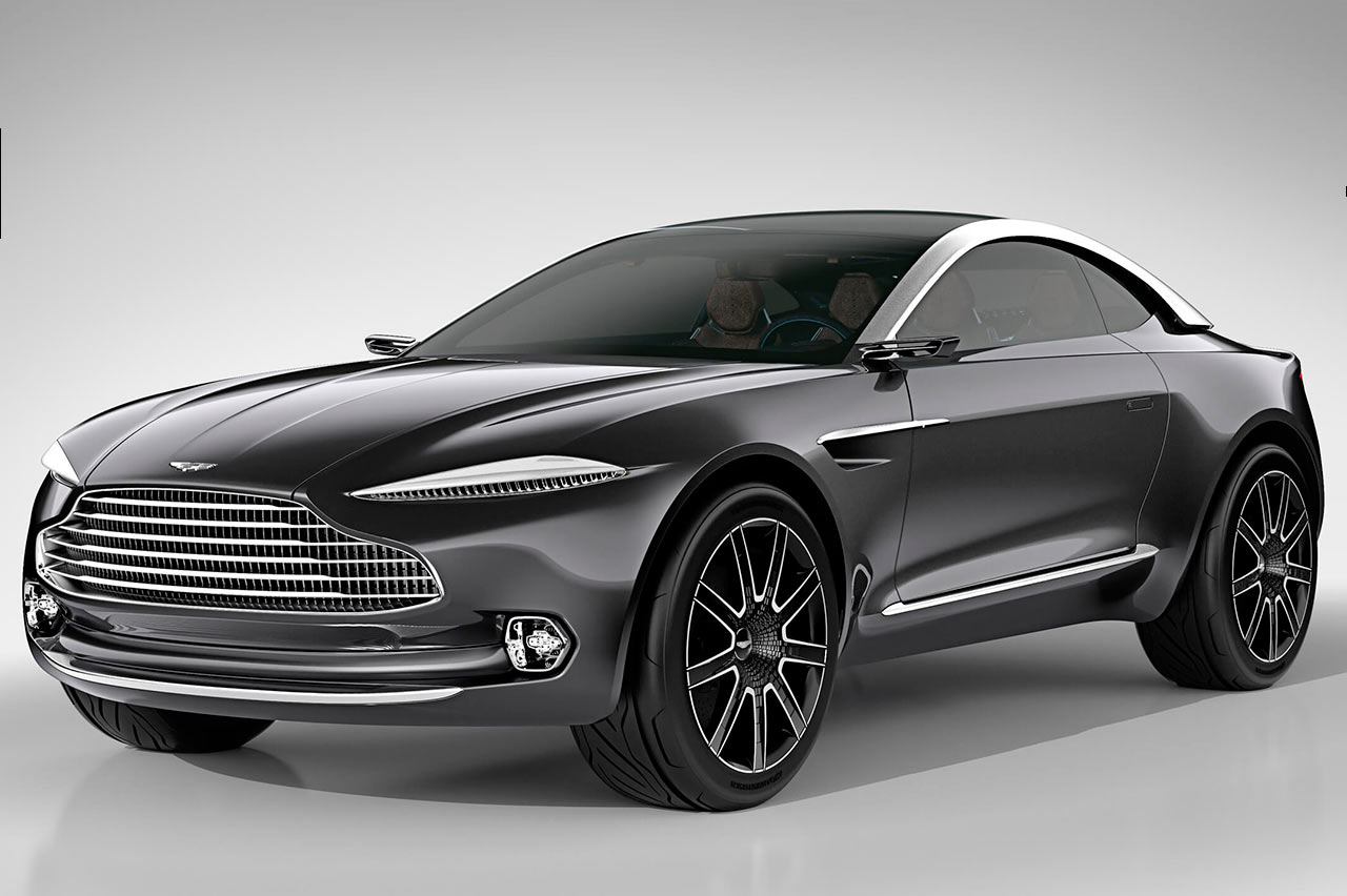 DBX, concepto de SUV. Foto: Aston Martin.
