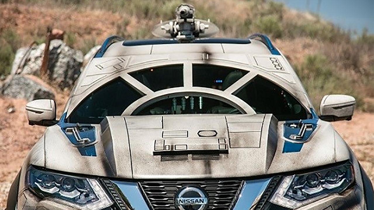 Nissan crea un auto inspirado en Millennium Falcon, tienes que verlo