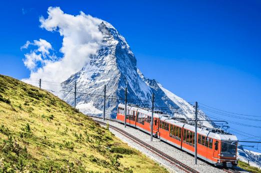 Europa, tren