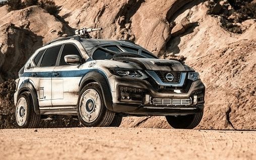 Nissan, Star Wars, auto, Millennium Falcon
