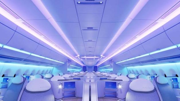avión, vuelos, Airbus, A350, Singapore Airlines, mundo, viajar