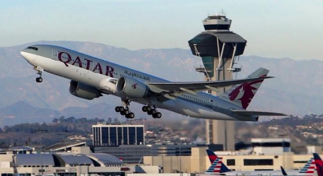 avión, vuelos, B777, Qatar, Airways, mundo