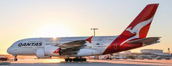 avión, vuelos, viajar, A380, Qantas, mundo
