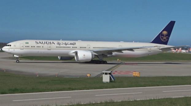 avión, vuelos, mundo, Saudia, viajar