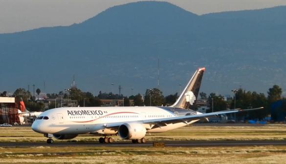 avión, vuelos, mundo, AeroMéxico, B787