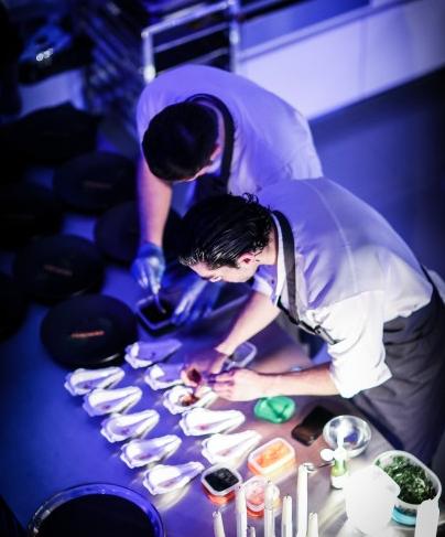 Jozef Youssef, gastronomía, cocina