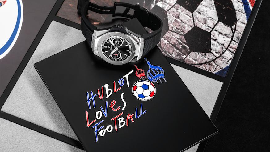 Hublot, reloj, Rusia 2018