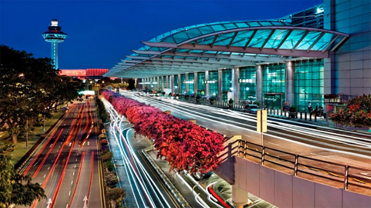 Changi, Singapur, aeropuerto