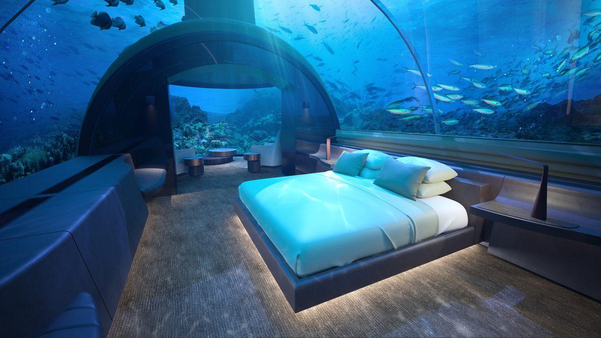 Este hotel submarino prepara su apertura en Islas Maldivas