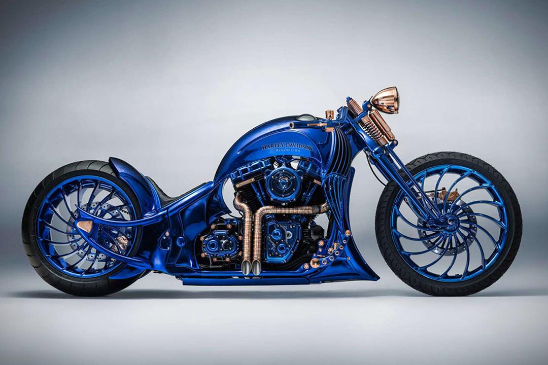 Harley-Davidson Blue Edition, la moto de 2 millones de dólares que amarás