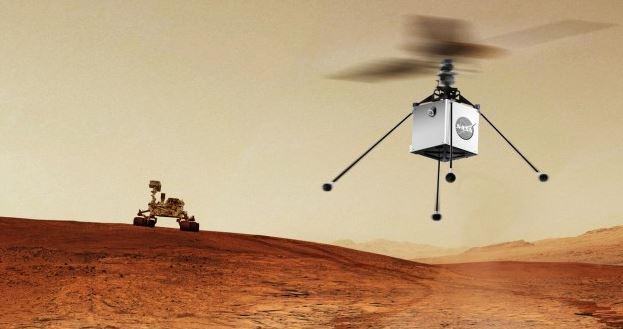 La NASA prepara el lanzamiento de un helicóptero a Marte
