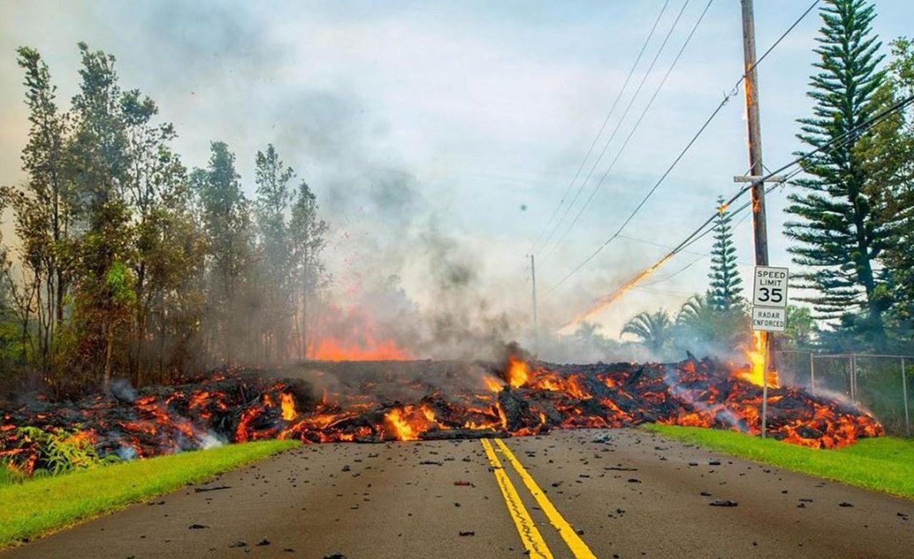 Volcán Kilauea sufre una nueva erupción