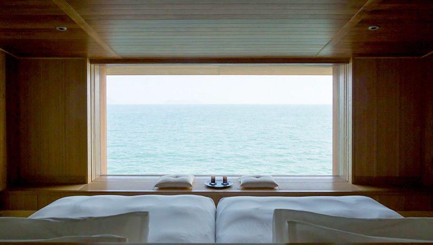 Recorre las costas de Japón a bordo de un hotel flotante