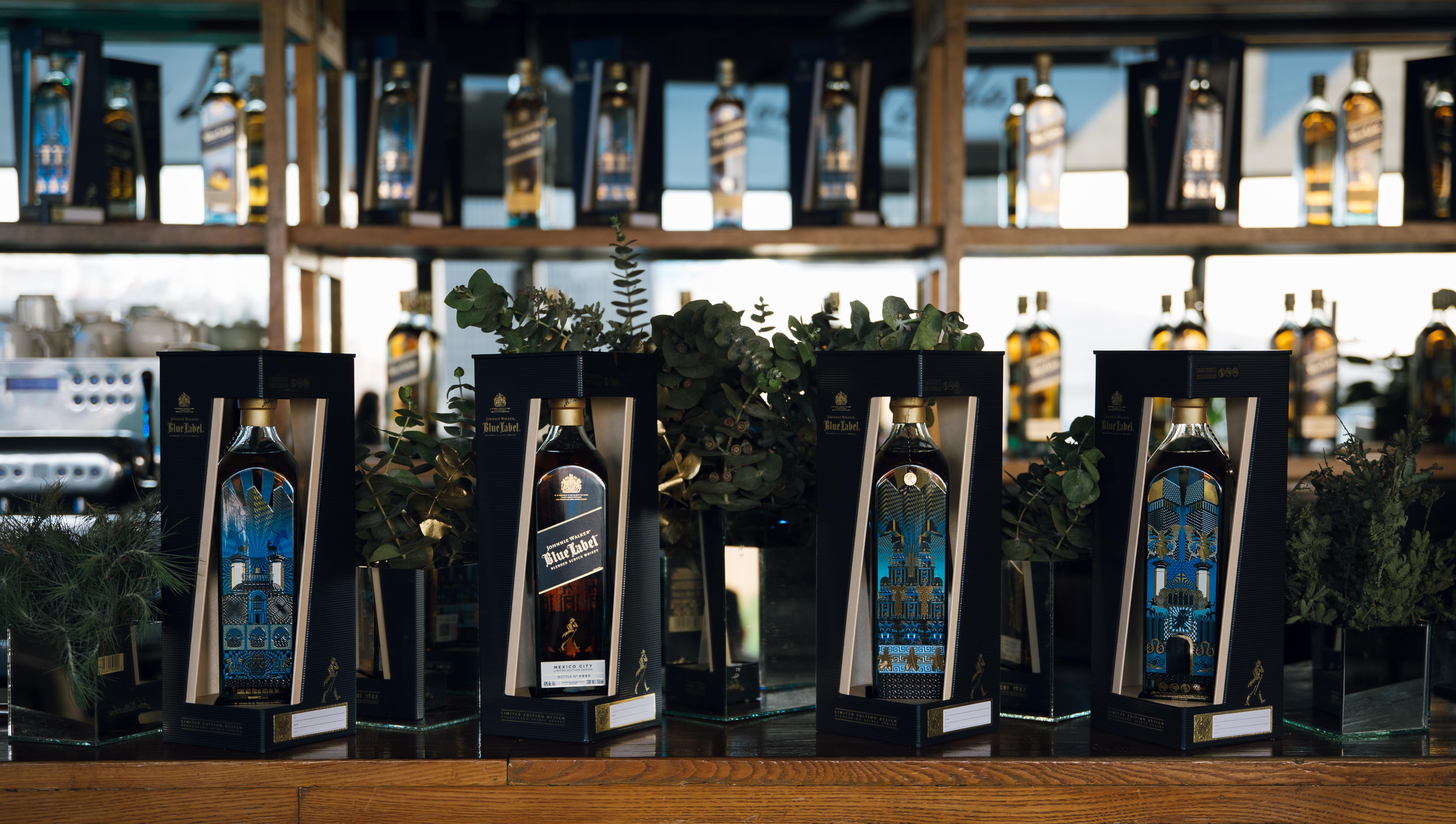 Johnnie Walker Blue Label se inspira en la Ciudad de México