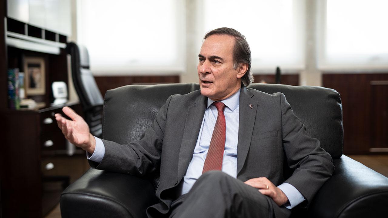 Los días difíciles de Juan Pablo Castañón, expresidente del CCE