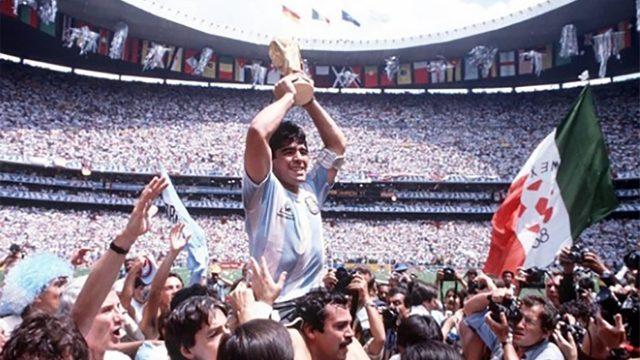 Maradona, serie, futbol, FIFA
