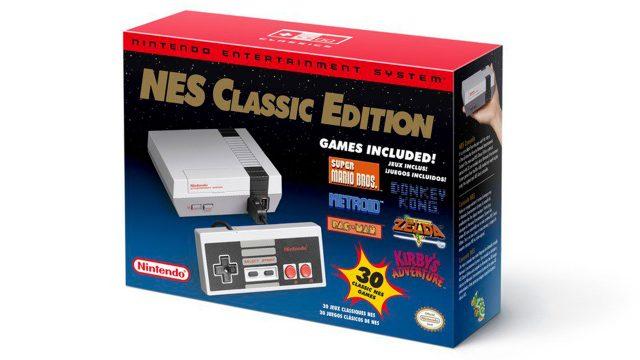 Nintendo anunció el regreso del NES Classic a las tiendas