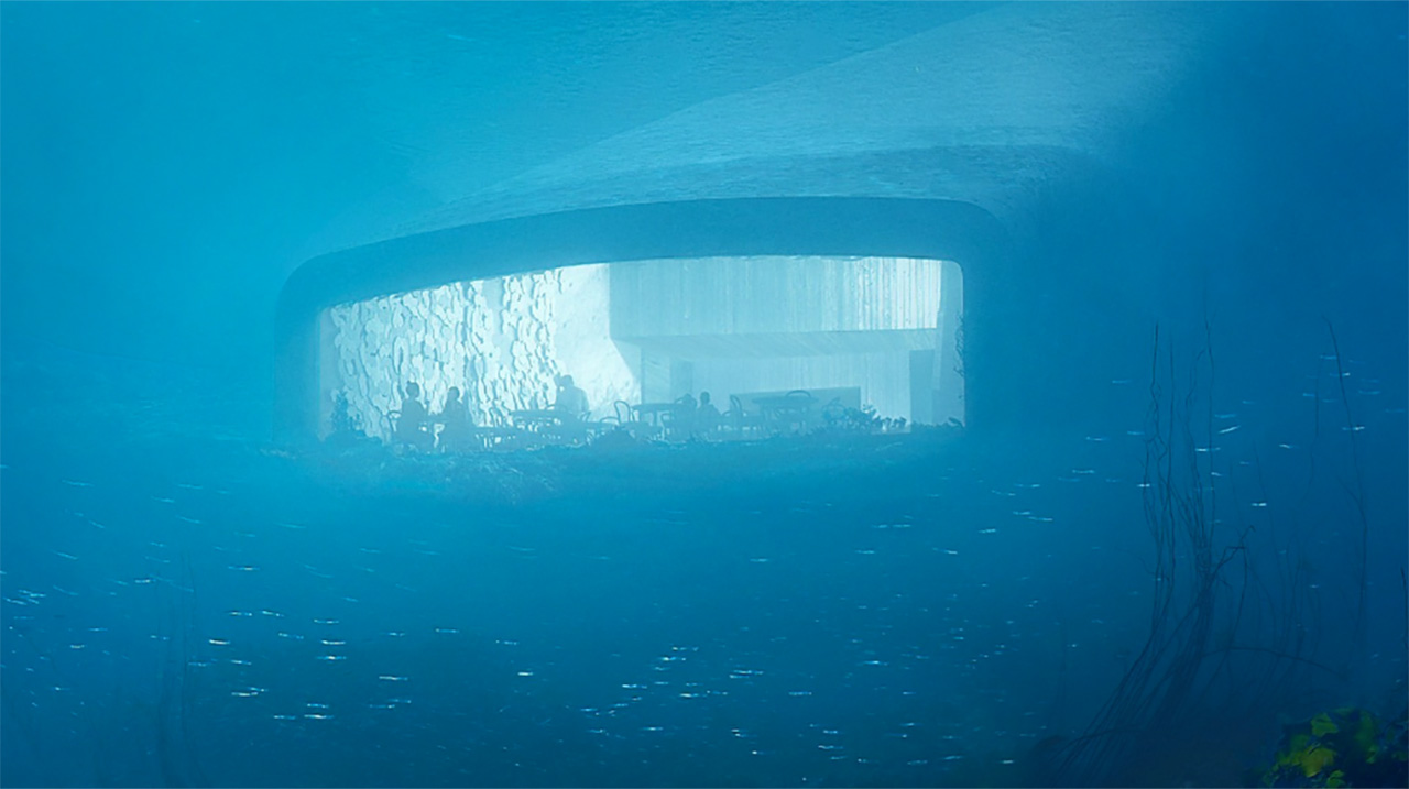 Under, Noruega, restaurante, mar