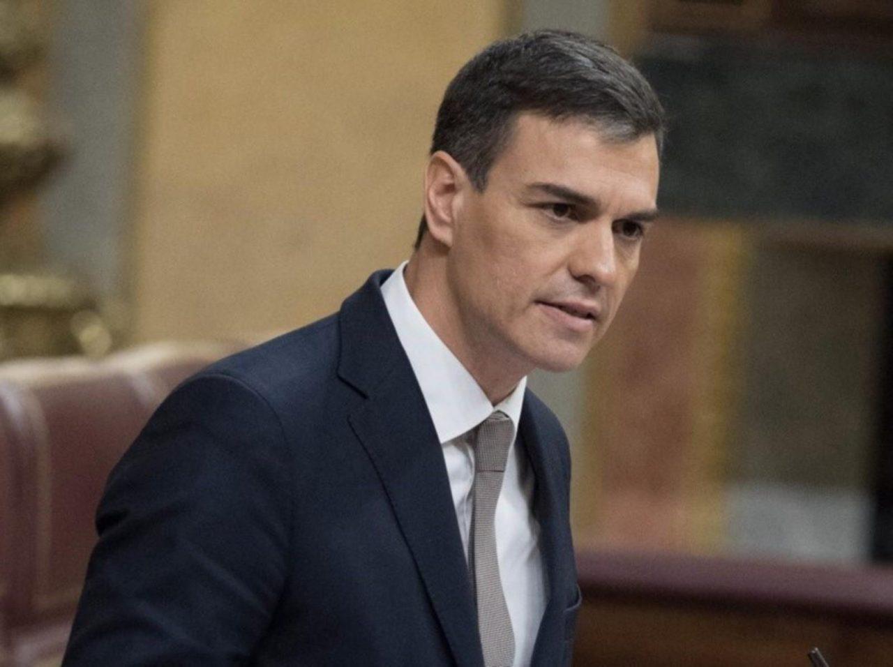Reportan protestas en Madrid contra gobierno de Pedro Sánchez