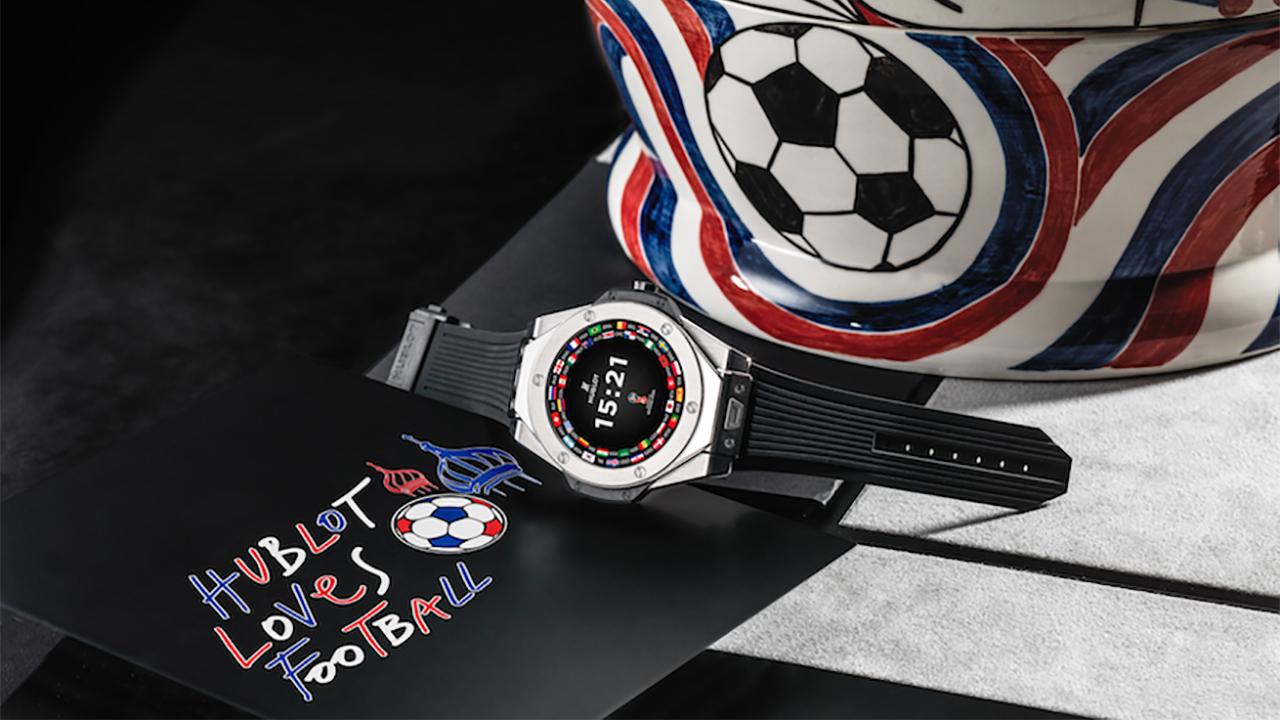 Enamórate del reloj conmemorativo del Mundial de Futbol