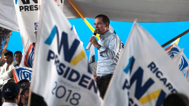 Ricardo anaya en campaña presidencial. Amozoc, Puebla. Foto: Angélica Escobar/Forbes México.