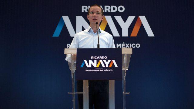 Ricardo Anaya, candidato a la presidencia de México. CDMX, 2018. (Foto: Angélica Escobar/Forbes México)