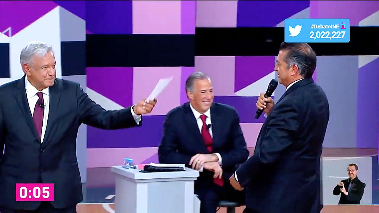 Segundo debate presidencial: secuencia táctica