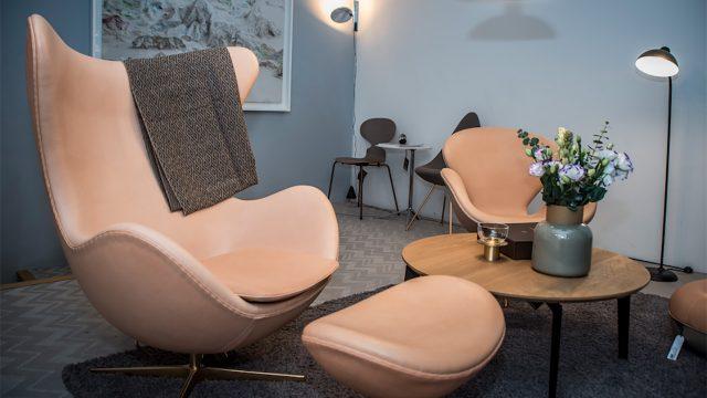 silla, Egg, Fritz Hansen, hogar, diseño, lujo