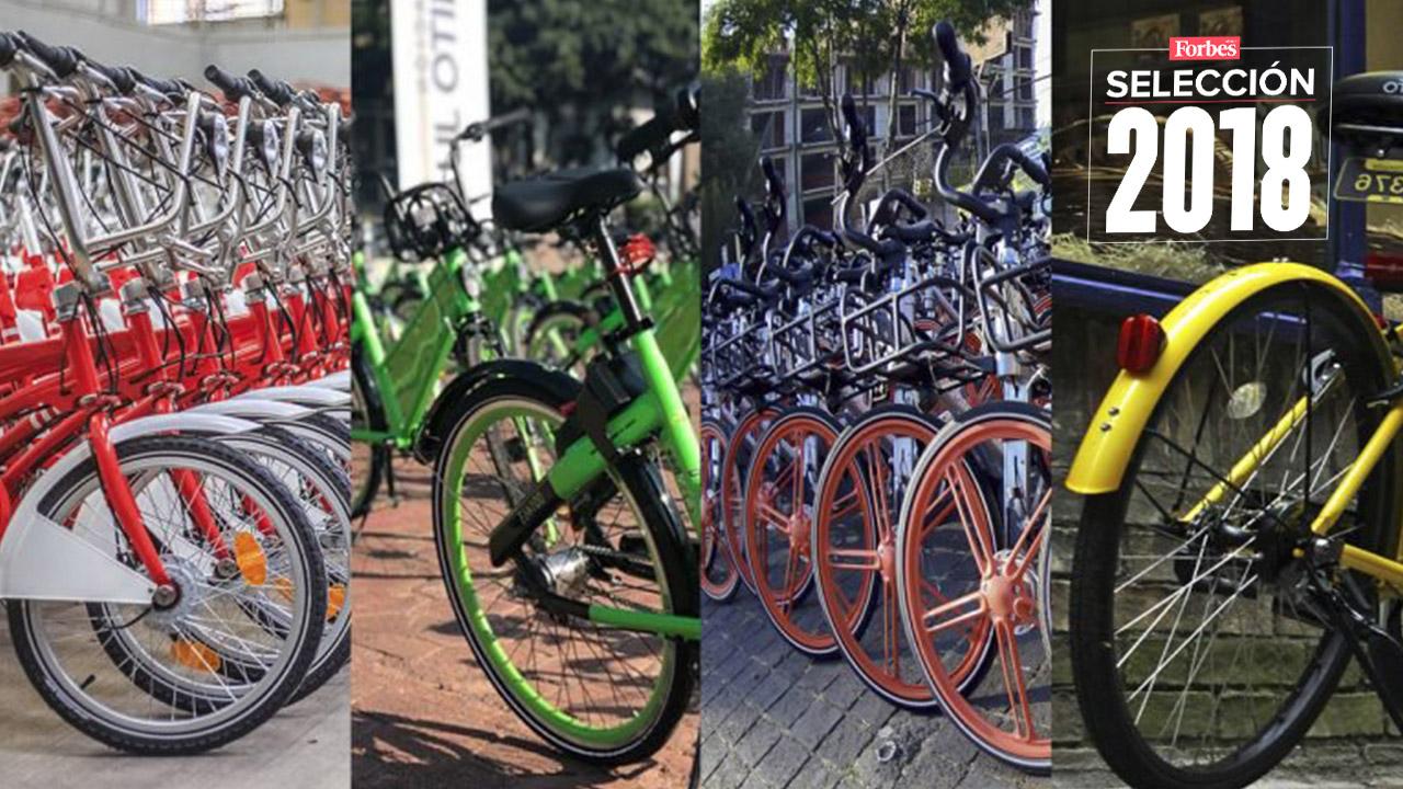 Selección 2018 | Estas empresas pelean por la movilidad de la CDMX en cada pedaleada