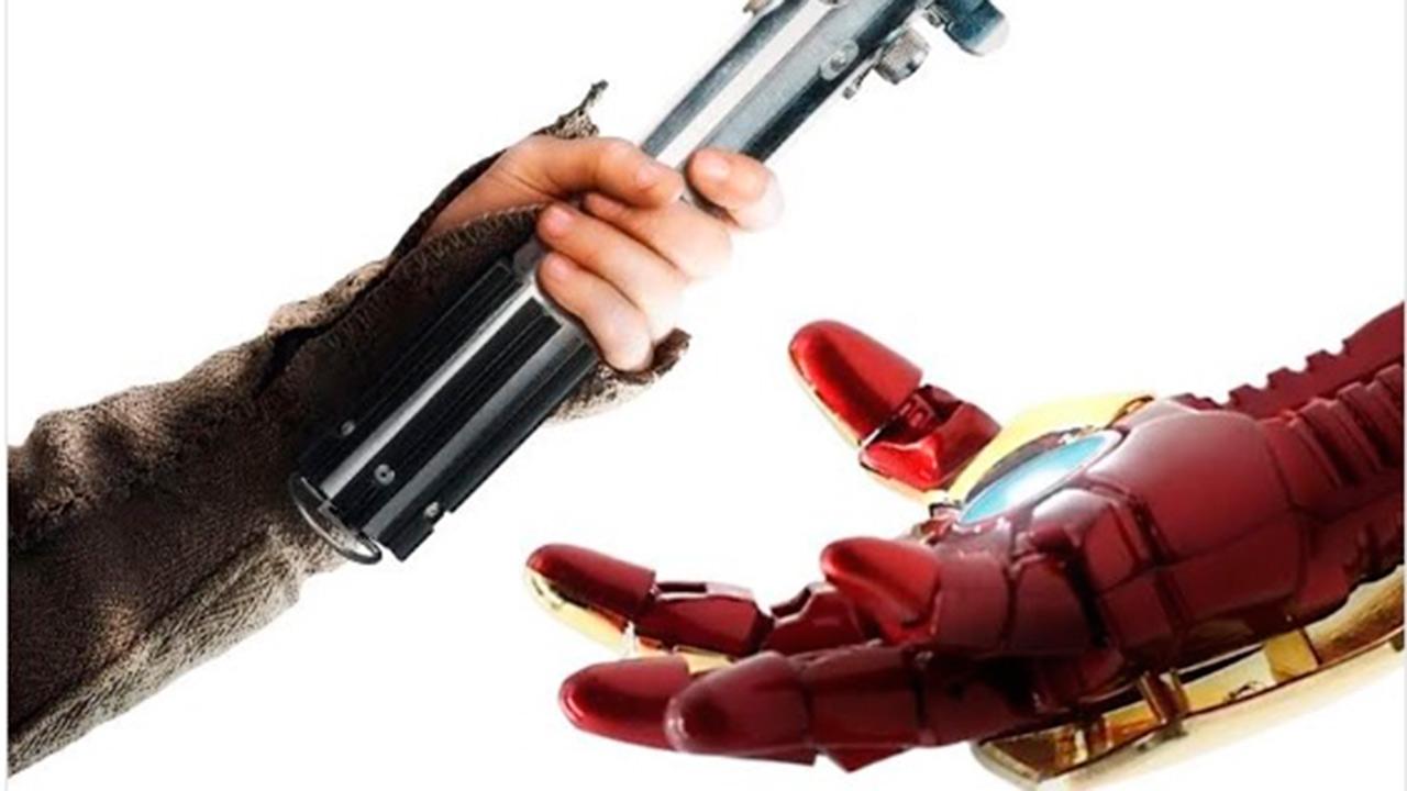 'Star Wars' sigue la tradición y felicita a los Avengers por su récord de estreno