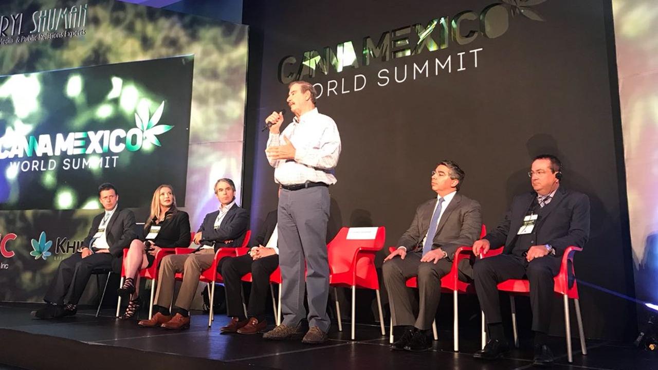 México llega tarde a la industria de la cannabis: Vicente Fox